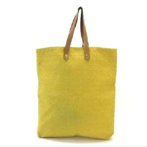 Hermès Yellow Ahmedabad Quilted Tote 215590
